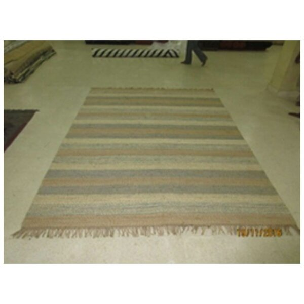 Thalia Hand-Woven Tan Area Rug by Bungalow Rose