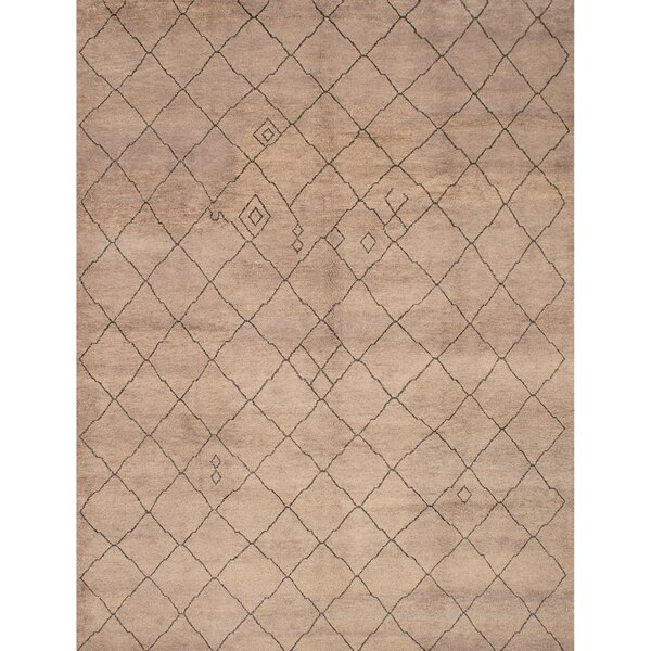 One-of-a-Kind Bridgewater Hand-Knotted Gray Area Rug by Bungalow Rose