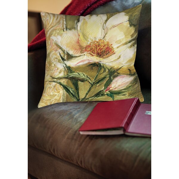 Loretta Printed Throw Pillow by August Grove