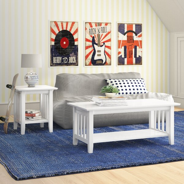 Inexpensive Richland 2 Piece Coffee Table Set by Red Barrel Studio