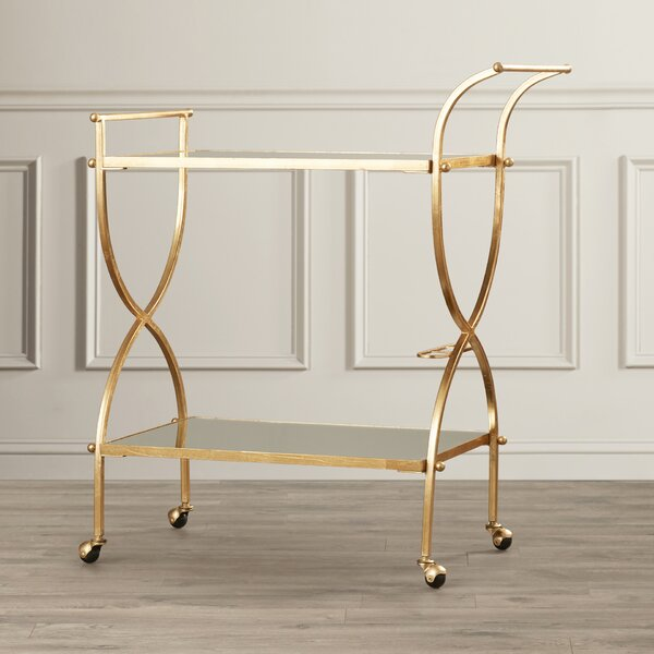 Branner Bar Cart by Willa Arlo Interiors Willa Arlo Interiors