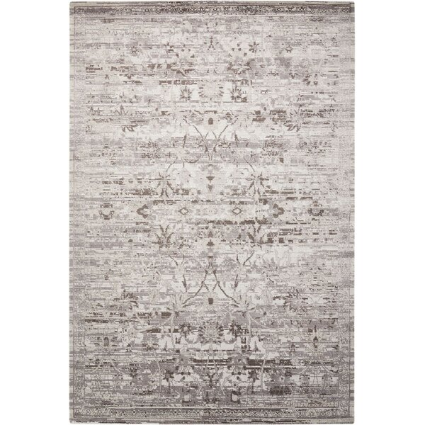 Arabelle Silver Area Rug by Bungalow Rose