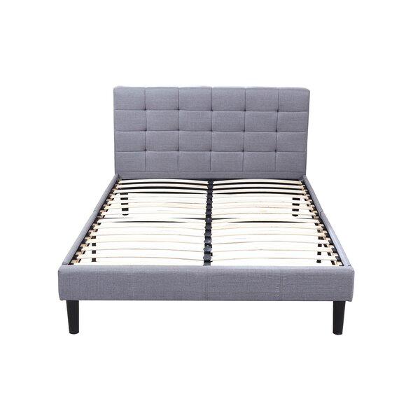 Anaelle Upholstered Platform Bed by Ebern Designs