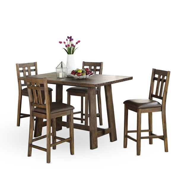 Kirtin 5 Piece Pub Table Set by Gracie Oaks