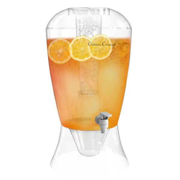Lillegard 256 oz. Beverage Dispenser by Ebern Designs