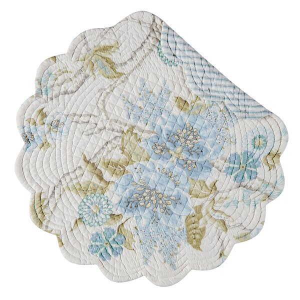 Jesamine Round Placemat (Set of 6) by C&F Home