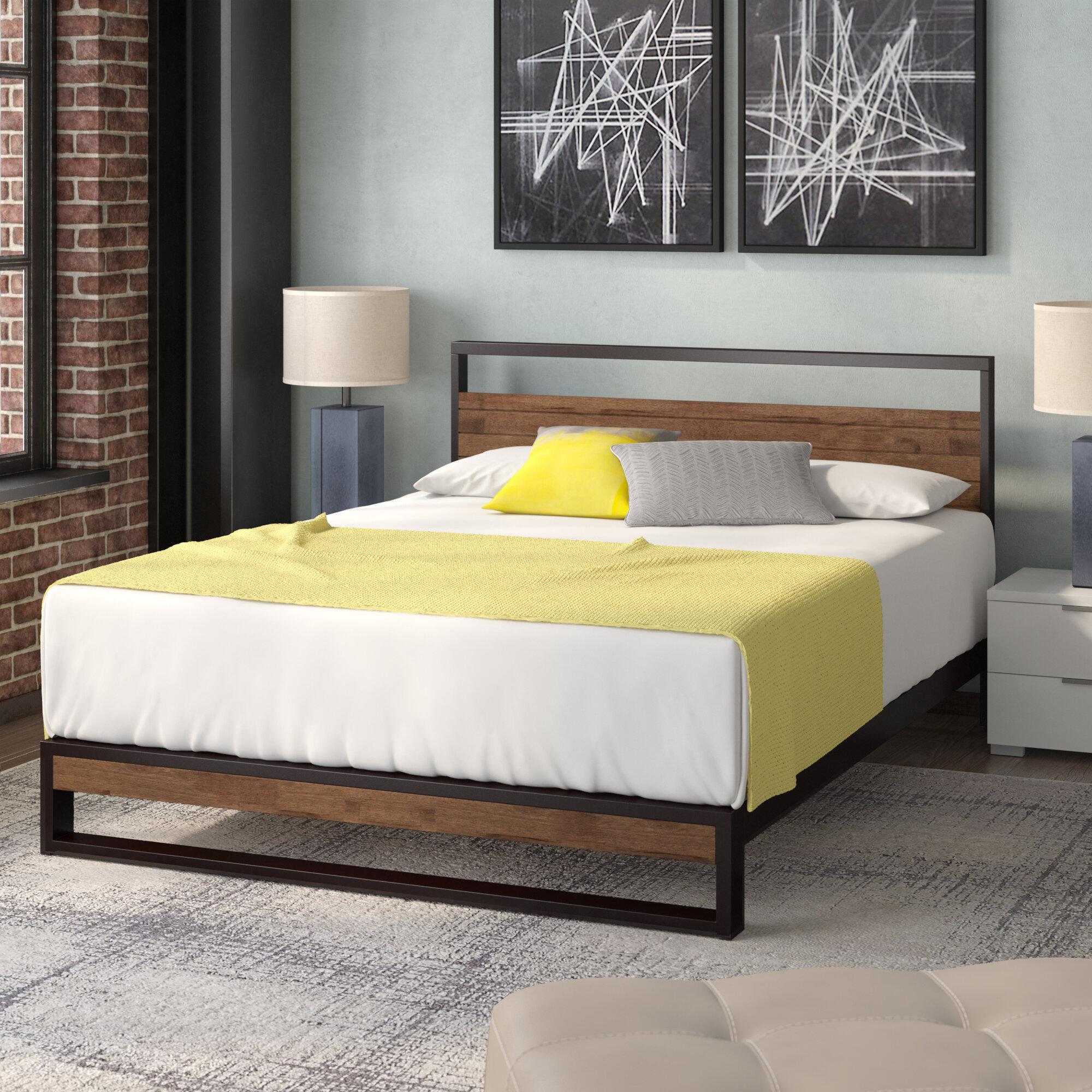 Picture of: Zipcode Design Pauletta Low Profile Platform Bed Reviews