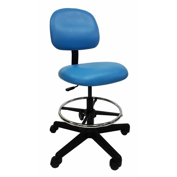 Low-Back Drafting Chair by Industrial Seating
