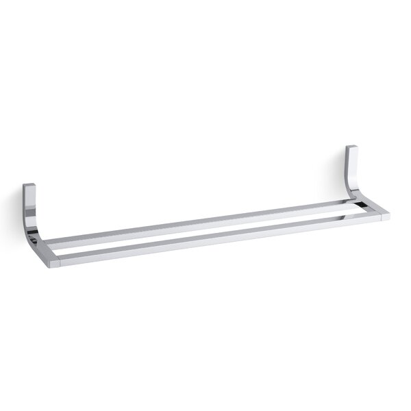 Loure Double 24 Wall Mounted Towel Bar by Kohler