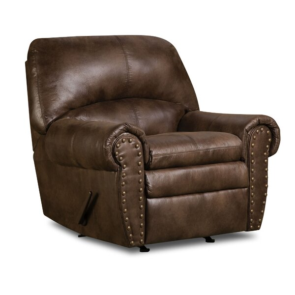 Mencia Manual Rocker Recliner by Simmons Upholstery by Loon Peak