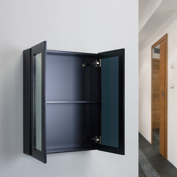 Derek 24 x 30 Surface Mount Framed Medicine Cabinet by Orren Ellis