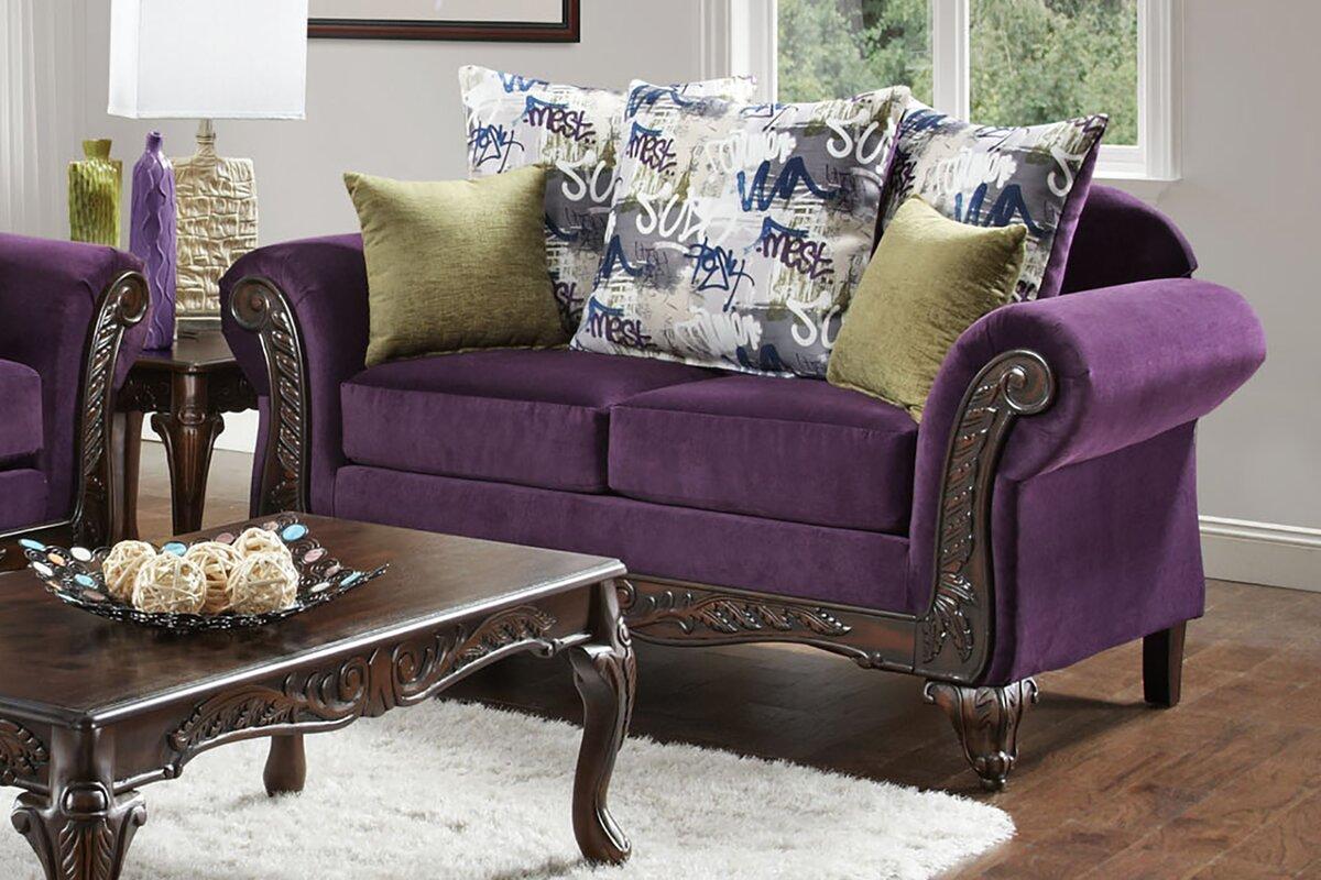Chelsea Home Anna Configurable Living Room Set & Reviews | Wayfair