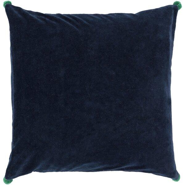 Yvonne Poms Velvet Throw Pillow Cover by Willa Arlo Interiors