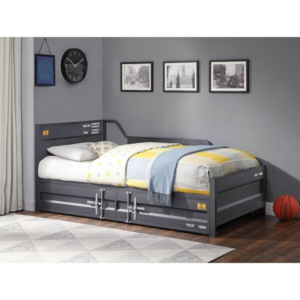 Thompson Cargo Twin Daybed with Trundle by 17 Stories 17 Stories