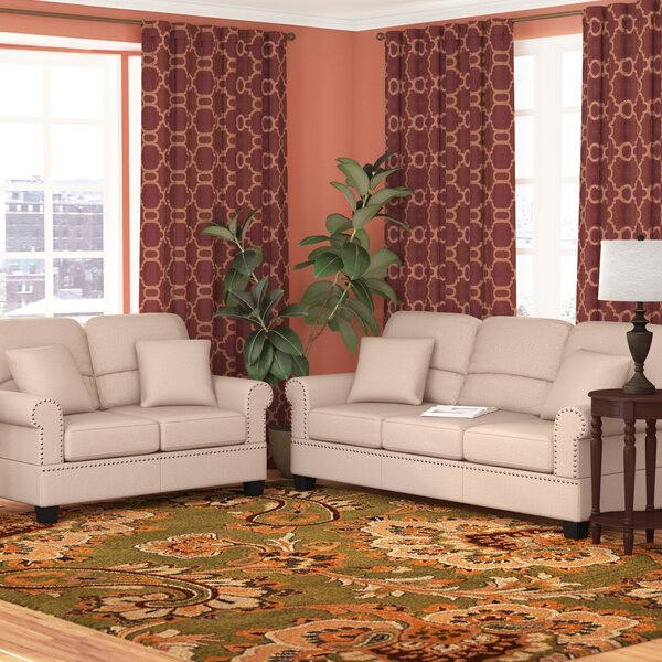 Boyster 6 Piece Living Room Set by Charlton Home