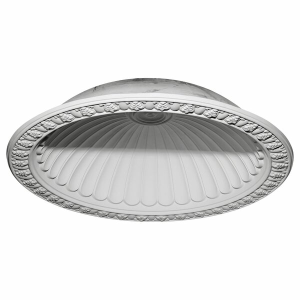 Claremont 63/4H x 63/4W x 12 5/8D Recessed Mount Ceiling Dome by Ekena Millwork