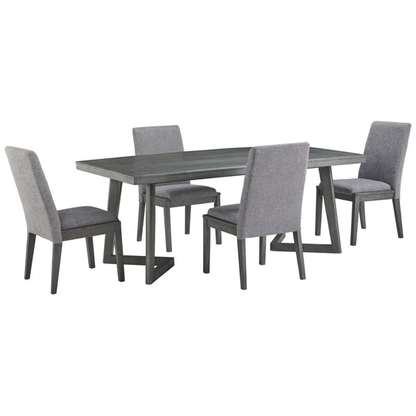 Banach 5 Piece Dining Set by Foundry Select