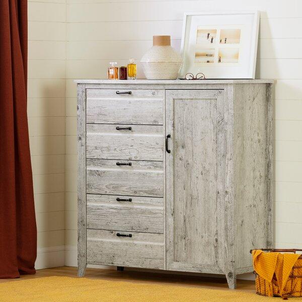 Lionel 5 Drawer Combo Dresser by Highland Dunes