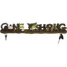 Gone Fishing 24 Key Rack by River's Edge Products