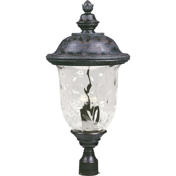 Patidar Outdoor 3-Light Lantern Head by Astoria Grand