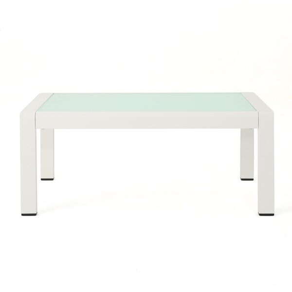 Royalston Glass Coffee Table by Brayden Studio