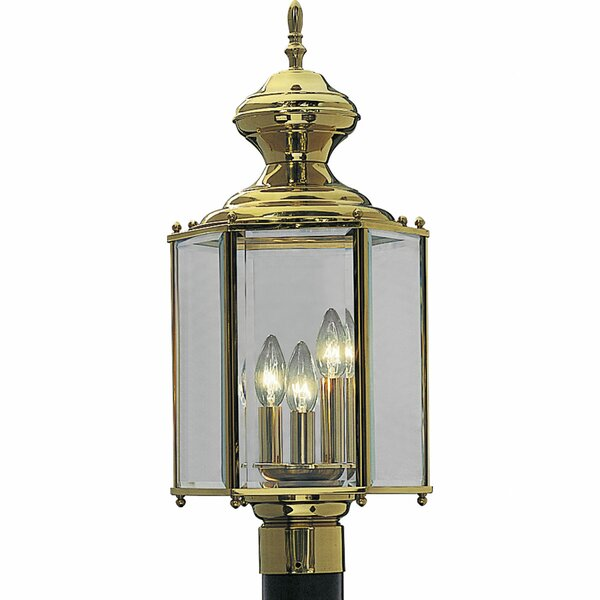Triplehorn 3-Light Lantern Head in Brass by Alcott Hill