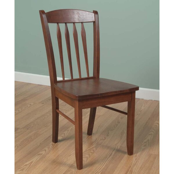 Towler Solid Wood Dining Chair by Charlton Home