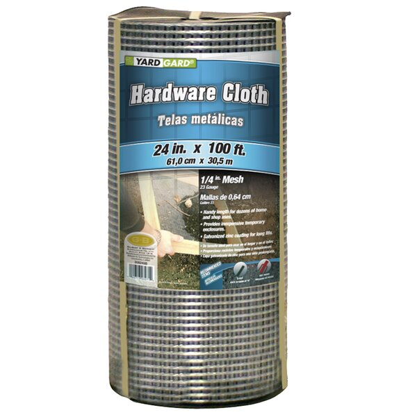 Hardware Cloth Fencing by Mat