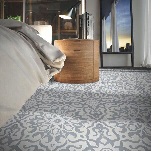 Mathusalem Handmade 8 x 8 Cement Field Tile