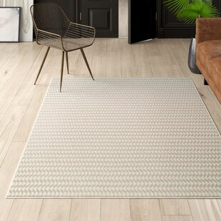 Riche Handwoven Ivory Area Rug by Mercury Row