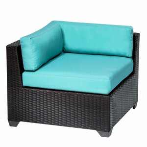 Belle Corner Chair with Cushions TK Classics