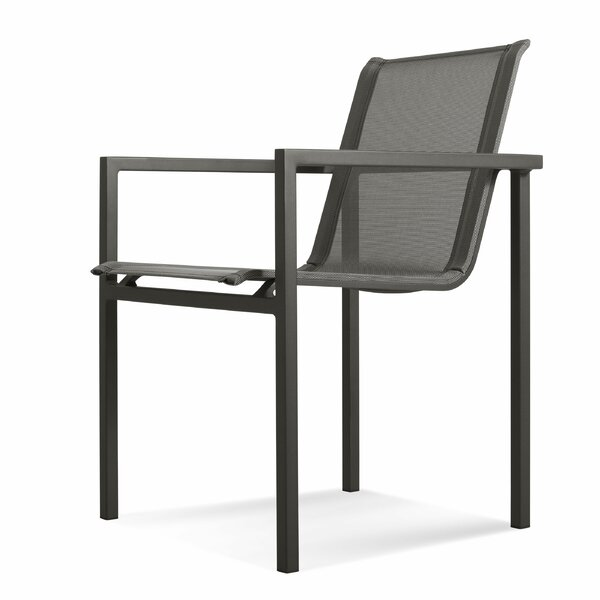 Skiff Stacking Patio Dining Chair by Blu Dot