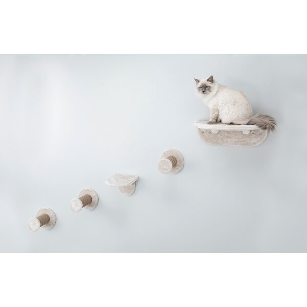 Hallam Wall Mount Cat Playground Cat Perch by Tuck