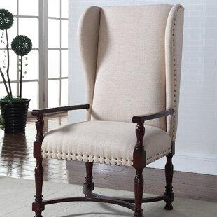 Buy clear Langhorne Wingback Chair ByAlcott Hill
