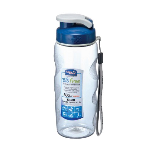 Bisfree Sport Handy 17 oz. Plastic Water Bottle by Lock & Lock