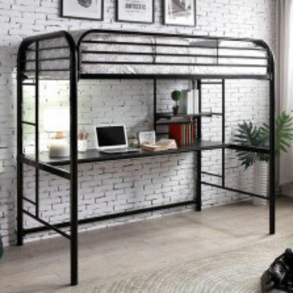 Bianchi Twin Low Loft Bed by Harriet Bee