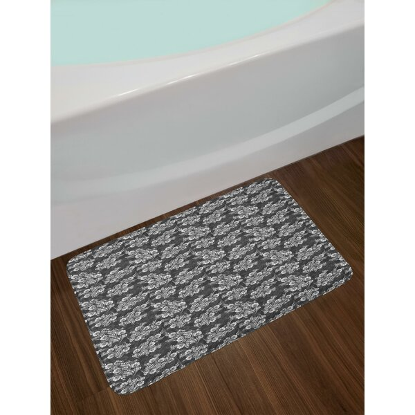 Blooming Damask Bath Rug by East Urban Home