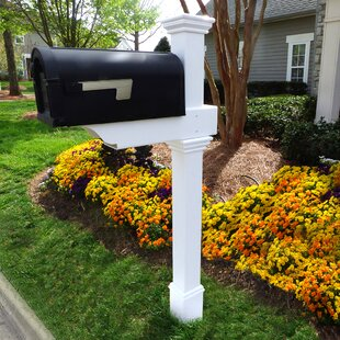 double mailbox designs. 5 Ft. H In-Ground Decorative Post Double Mailbox Designs L