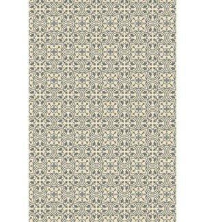 Davion Quad European Design Gray/White Indoor/Outdoor Area Rug by Charlton Home