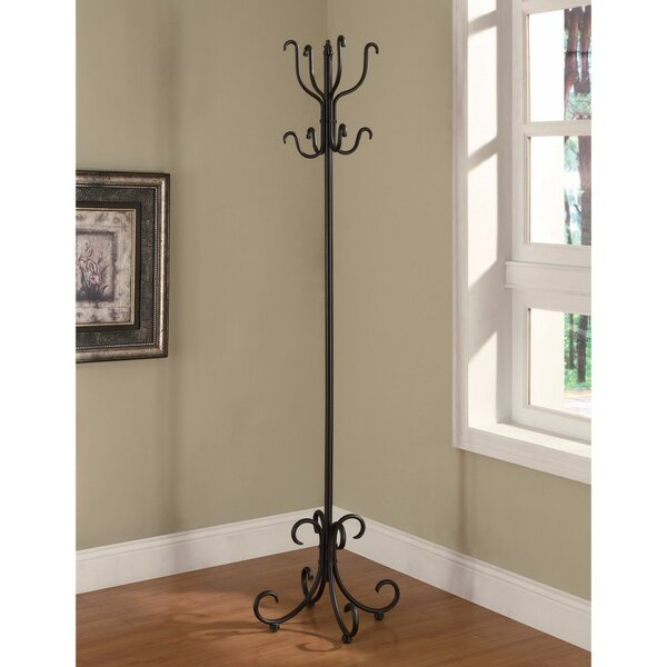 Cluff Metal Coat Rack by Fleur De Lis Living
