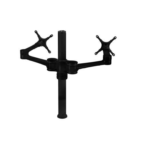 Dual Display Articulating/Extending Arm Desktop Mount 20-27 LCD by Atdec