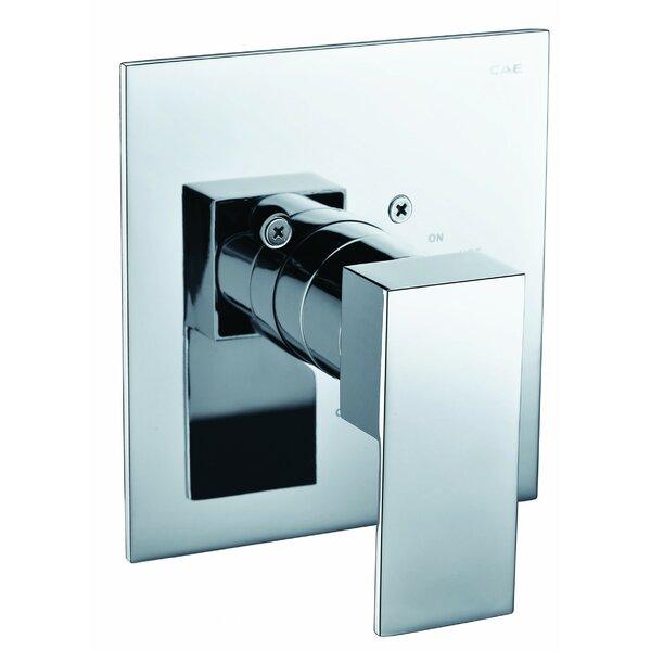 Square Pressure Balanced Shower Mixer by Alfi Brand