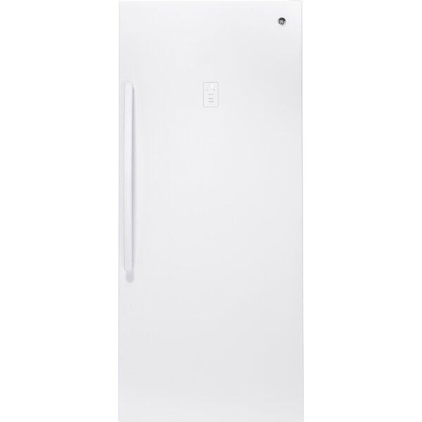 21.3 cu. ft. Frost-Free Upright Freezer by GE Appliances