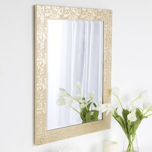 Look for Coolidge Framed Vanity Beveled Wall Mirror By DesignOvation