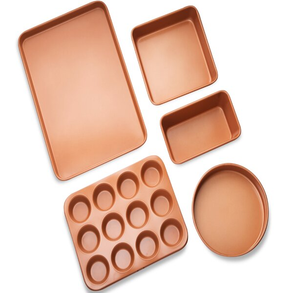 5 Piece Non-stick Bakeware Set by Gotham Steel