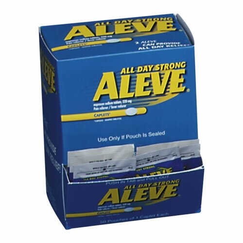 Aleve Pain Reliever Tablets, Blue by Aleve®