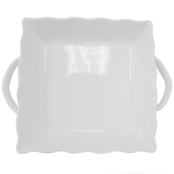 Square Ruffled Stoneware Bakeware by Cook Pro