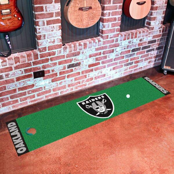 NFL Oakland Raiders Putting Green Mat by FANMATS