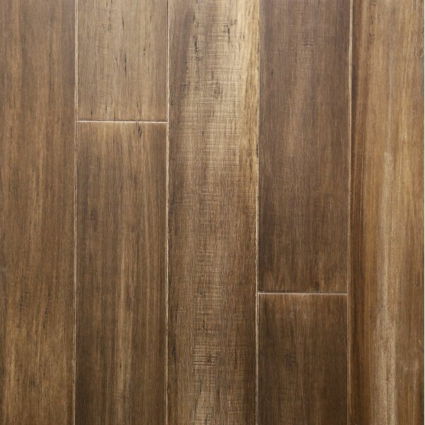 5 Engineered Bamboo Flooring in Smokehouse by Islander Flooring