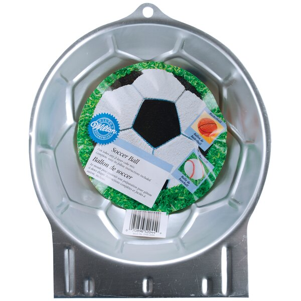 Soccer Ball Novelty Cake Pan by Wilton